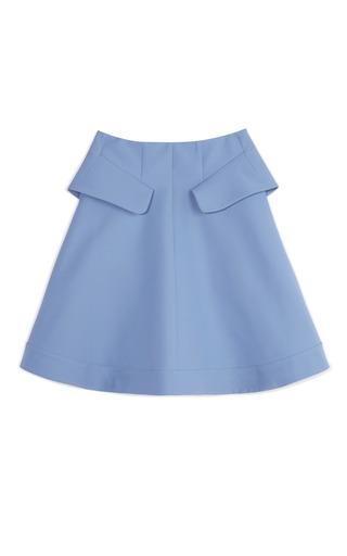 Iris Blue A Line Skirt by MARNI Now Available on Moda Operandi