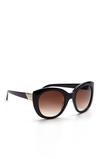 Medium nina ricci black la gracieuse sunglasses 2