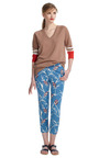 Azur Structured Floral Trouser by MARNI Now Available on Moda Operandi