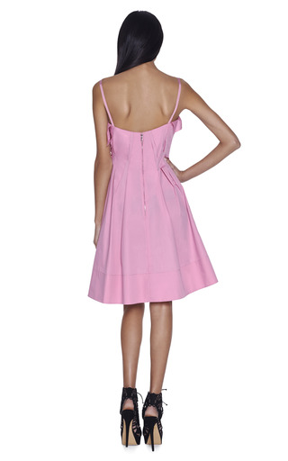 Cotton Poplin Dress by NINA RICCI Now Available on Moda Operandi