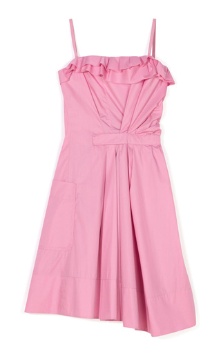 Medium nina ricci pink cotton poplin dress