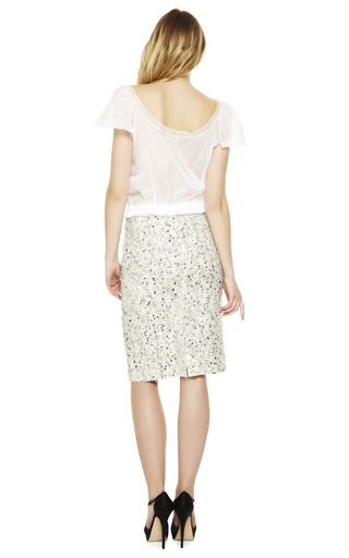 Cotton Voile Top by NINA RICCI Now Available on Moda Operandi