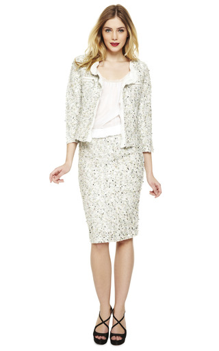 Sparkle Jacket by NINA RICCI Now Available on Moda Operandi
