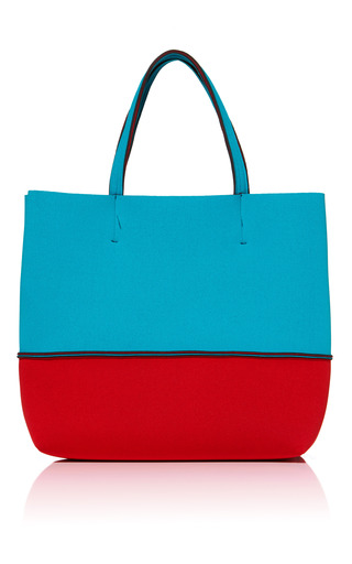 Medium leghila multi turquoisered beach bag