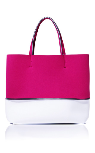 Medium leghila multi cherrywhite beach bag