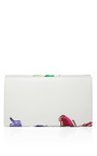 The Isobel Clutch In White– M'o Exclusive by MARC JACOBS Now Available on Moda Operandi