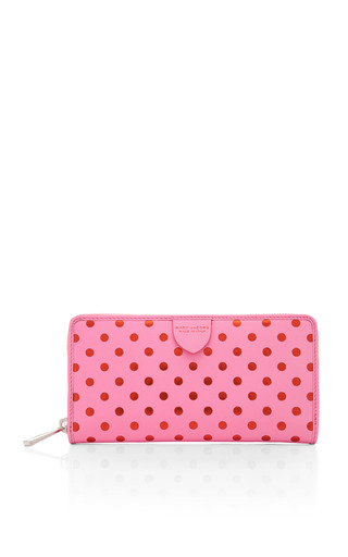 Medium marc jacobs multi kiki with dots deluxe wallet