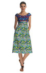 Degrade Floral Cotton Cap Sleeve Dress by MARC JACOBS Now Available on Moda Operandi