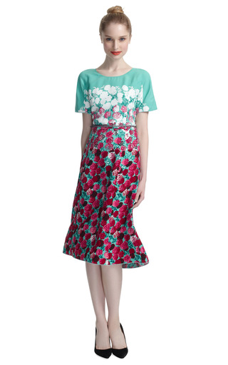 Floral Dress by MARC JACOBS Now Available on Moda Operandi