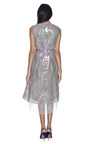 Sequin Broderie Anglaise Organza Scoop Neck Dress by MARC JACOBS Now Available on Moda Operandi