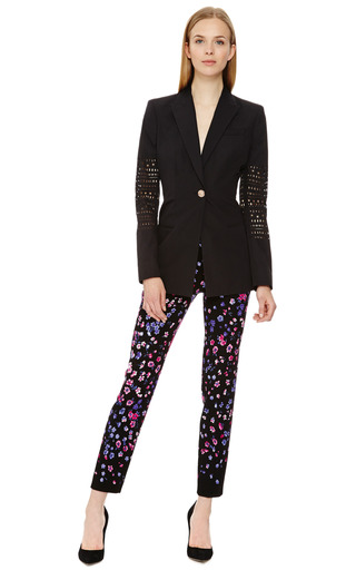 Small Flower Printed Pants by VERSACE Now Available on Moda Operandi