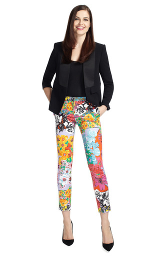 Vintage Print Pants by VERSACE Now Available on Moda Operandi