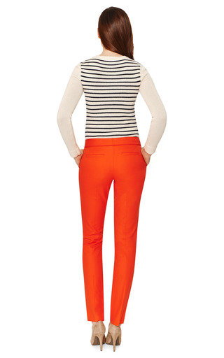 Red Pant by SALVATORE FERRAGAMO Now Available on Moda Operandi