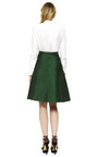 Mikado A Line Skirt by VALENTINO Now Available on Moda Operandi