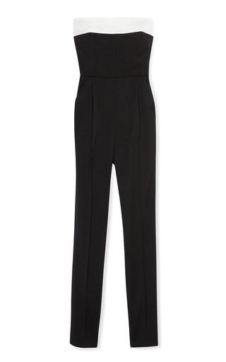 Medium valentino multi strapless jumpsuit w back bow detail