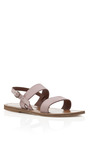Berry Petal Barigoule Sandals by K. JACQUES Now Available on Moda Operandi