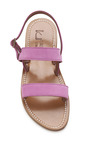 Hibiscus Barigoule Sandals by K. JACQUES Now Available on Moda Operandi
