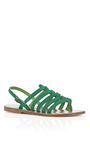 Cadi Tropical Homere Sandals by K. JACQUES Now Available on Moda Operandi