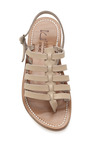 Beige Homere Sandals by K. JACQUES Now Available on Moda Operandi