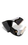 Plexiglass Abstract Ribbon Cuff by VIONNET Now Available on Moda Operandi