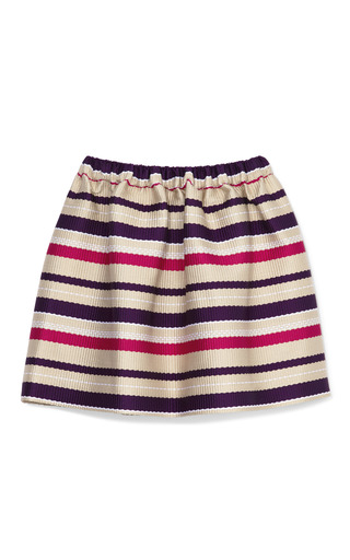 Medium msgm multi stripe sport skirt 2