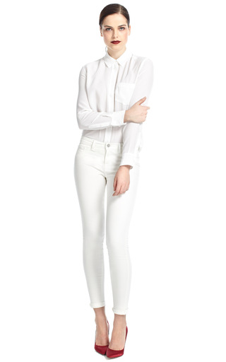Reese Silk Blouse by EQUIPMENT Now Available on Moda Operandi