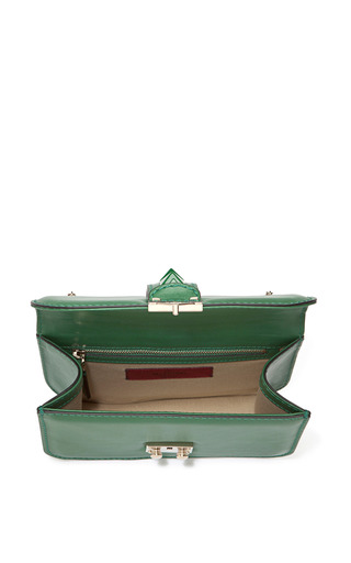 Mini Lock With Laquered Studs by VALENTINO Now Available on Moda Operandi