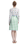 Scallop V Skirt by THOM BROWNE Now Available on Moda Operandi