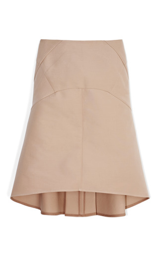 Medium marni nude nude saddle hem skirt