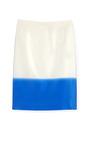 Surf Multi Fade Out Stripe Pencil Skirt by TIBI Now Available on Moda Operandi