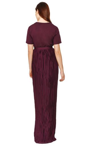 Plissé Column Skirt by VIONNET Now Available on Moda Operandi