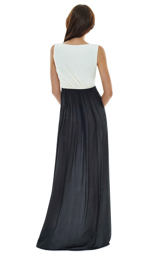 Two Tone Gown by GIAMBATTISTA VALLI Now Available on Moda Operandi
