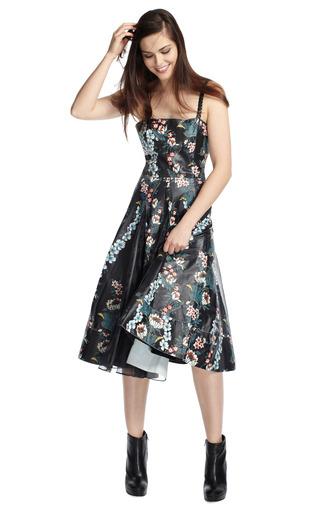 Hawaiian Print Dress by PATRíCIA VIERA Now Available on Moda Operandi