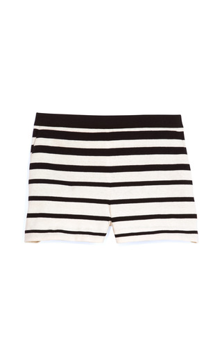 Medium tibi multi variegated stripe knit short