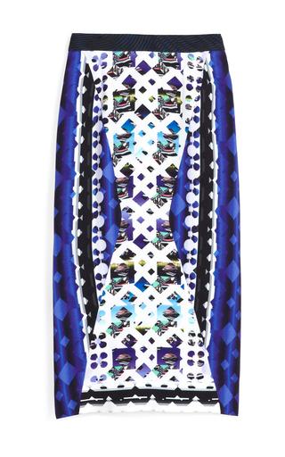 Medium peter pilotto blue lace blue h skirt