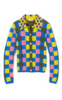 Checkered Cashmere Shirt Sweater by MARC JACOBS Now Available on Moda Operandi