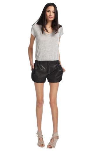 Mako's Black Shorts by THAKOON ADDITION Now Available on Moda Operandi