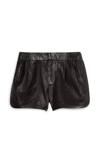 Mako's Black Shorts by THAKOON ADDITION Now Available on Moda Operandi