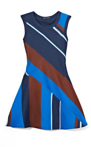 Medium ostwald helgason multi multi diagonal stripe dress 2