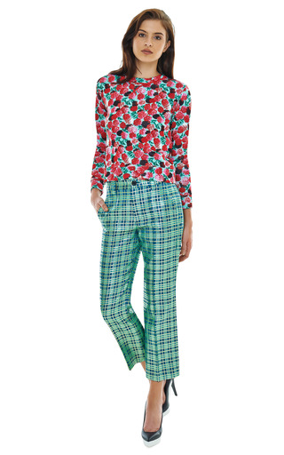 Long Sleeve Floral Sweatshirt by MARC JACOBS Now Available on Moda Operandi