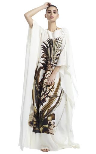 Pineapple Kaftan by ADRIANA DEGREAS Now Available on Moda Operandi
