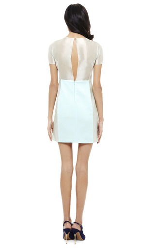 Sheer Panelled Dress by MATTHEW WILLIAMSON Now Available on Moda Operandi