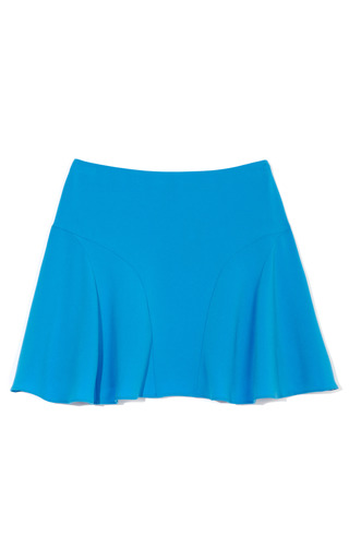 Medium joseph blue marina stretch crepe skirt 2