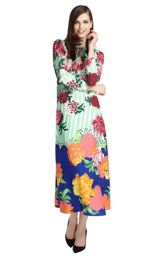 Oversize Floral Keyhole Dress by MARC JACOBS Now Available on Moda Operandi