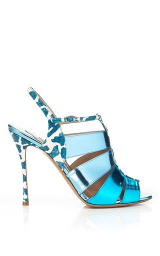 Medium nicholas kirkwood multi metallic sandal