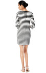 Micro Stripe Plissé Dress by MSGM Now Available on Moda Operandi