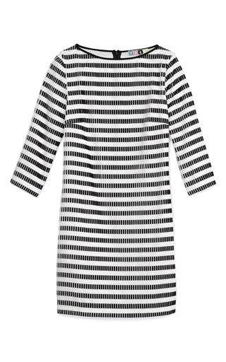 Micro Stripe Plissé Dress by MSGM Now Available on Moda Operandi