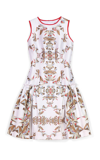 Medium prabal gurung print printed drop waist cocktail dress