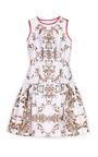 Printed Drop Waist Cocktail Dress by PRABAL GURUNG Now Available on Moda Operandi