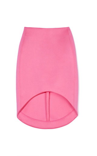 Medium josh goot pink future basic symmetrical cut away skirt 2